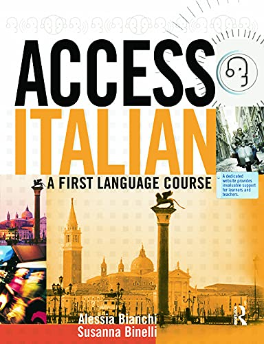 9780340812969: Access Italian, Student Book: A First Language Course