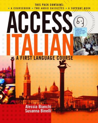 9780340812983: Access Italian: A First Language Course