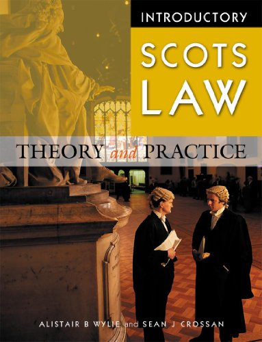 9780340813607: Introductory Scots Law