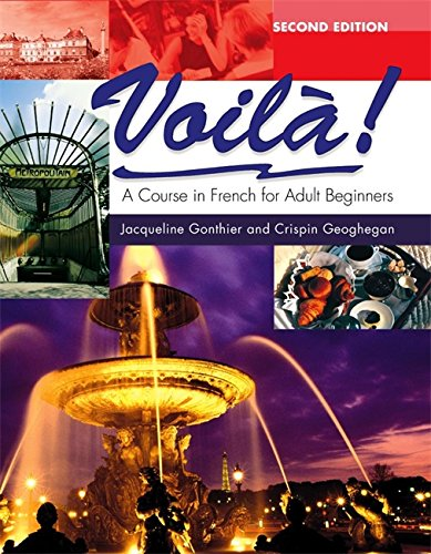 9780340813676: Voila: A Course in French for Adult Beginners