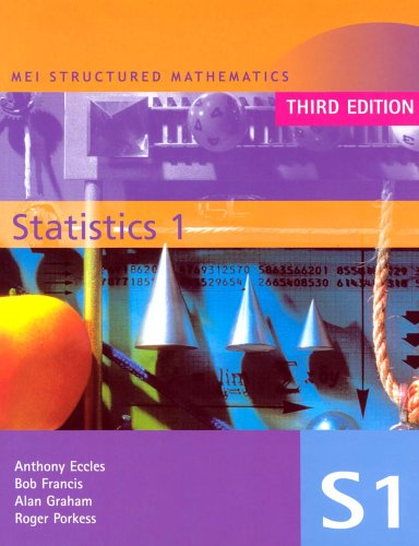 9780340813997: MEI Statistics 1 3rd Edition: v. 1 (MEI Structured Mathematics (A+AS Level))