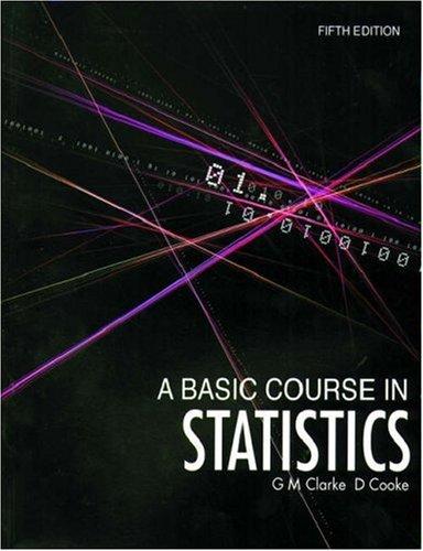 9780340814062: A Basic Course in Statistics (Hodder Arnold Publication)
