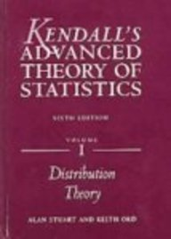 9780340814932: Kendall's Advanced Theory of Statistics: 3-Volume Set (Hodder Arnold Publication)