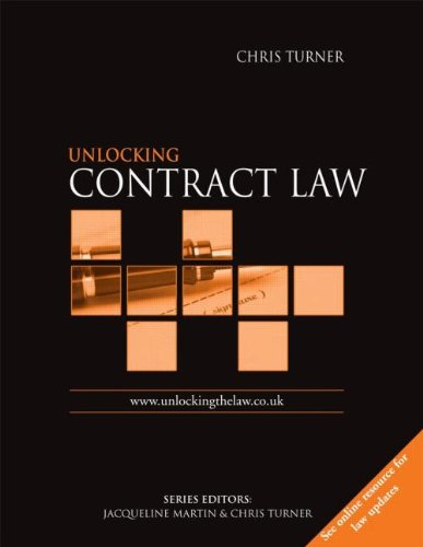 9780340815663: Unlocking Contract Law (Unlocking the Law)