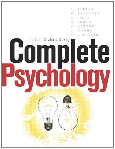9780340815687: Complete Psychology