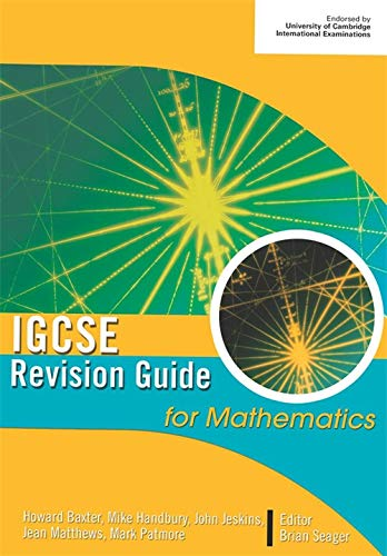 9780340815786: IGCSE Revision Guide for Mathematics (Modular Maths for Edexcel)