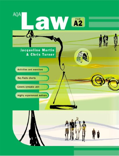 9780340816073: AQA Law for A2