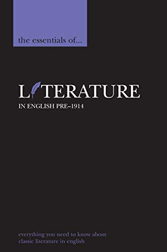 9780340816318: The Essentials of Literature in English, pre-1914 (Essential Reference)