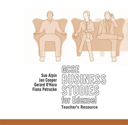 9780340816578: GCSE Business Studies for Edexcel Teacher's Resource CD-ROM