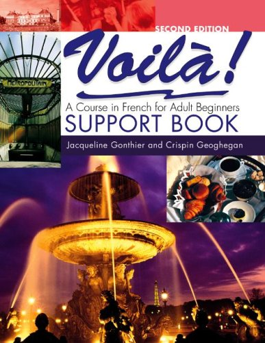 9780340816615: Voila: Support Book Ex-directory: A Course in French for Adult Beginners