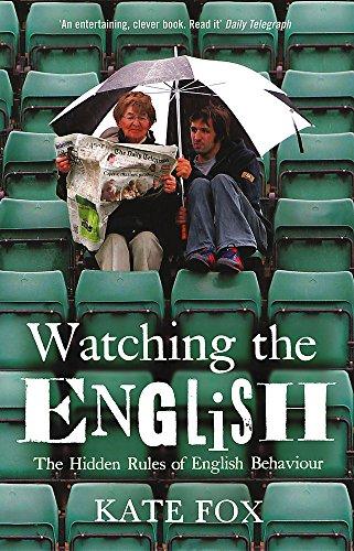 9780340818862: Watching the English