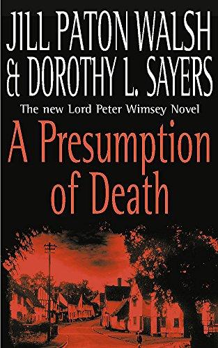9780340820674: A Presumption of Death