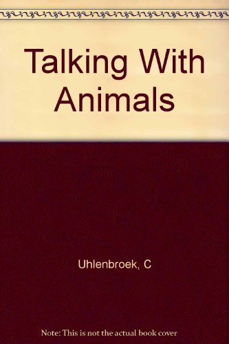 9780340821244: Talking With Animals