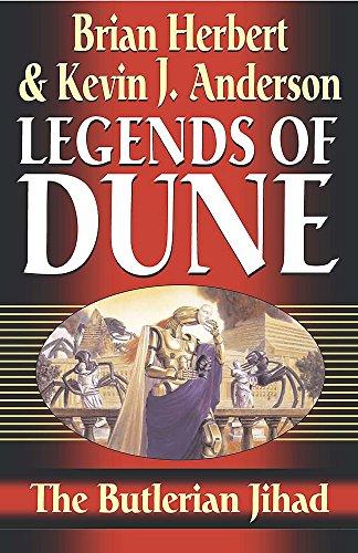 9780340823309: The Butlerian Jihad: Legends of Dune