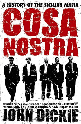 9780340824351: Cosa nostra: A History of the Sicilian Mafia