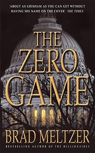 9780340825037: The Zero Game