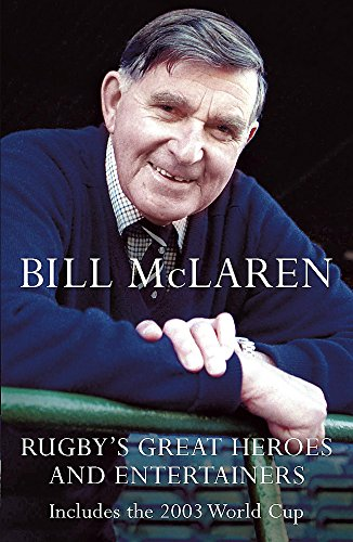 9780340827659: Rugby's Great Heroes and Entertainers
