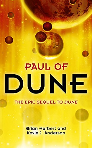 9780340837559: Paul of Dune (Legends of Dune)