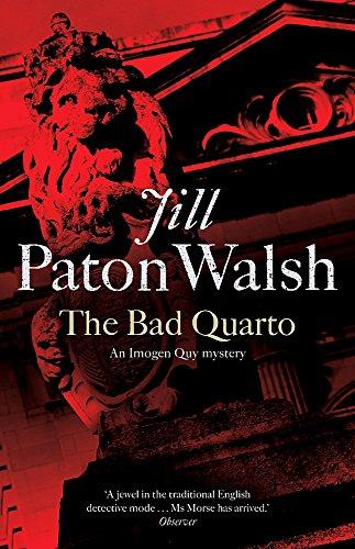 9780340839218: The Bad Quarto (Imogen Quy Mystery 4)