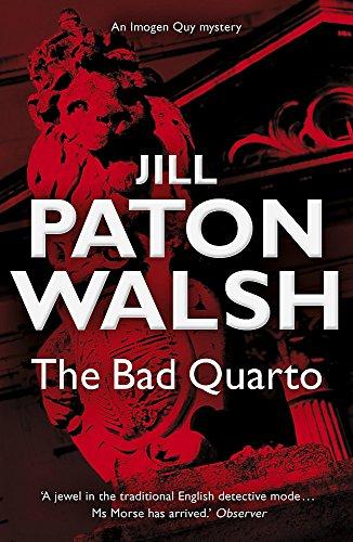 9780340839225: The Bad Quarto: Imogen Quy Book 4 (Imogen Quy Mystery 4)