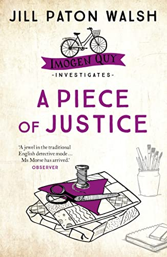 9780340839508: A Piece of Justice (Imogen Quy Mystery 2)