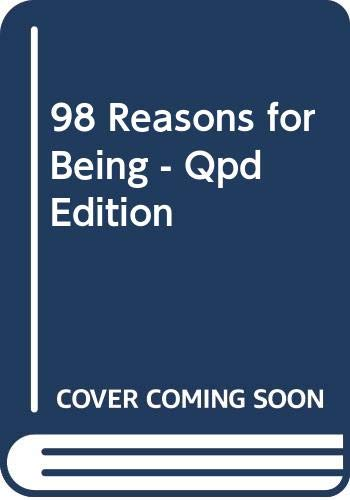 9780340841198: 98 Reasons for Being - Qpd Edition