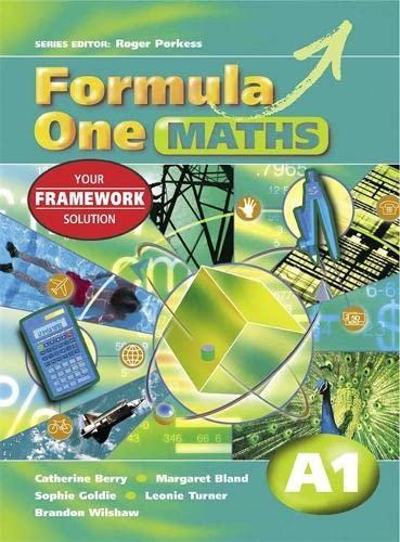 9780340844922: Formula One Maths A1