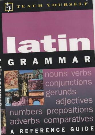 9780340845332: Teach Yourself Latin Grammar (TYL)