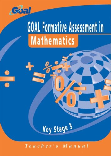 9780340845639: GOAL Formative Assessment in Key Stage 3 Mathematics SPECIMEN SET (GOAL Formative Assessment Series)