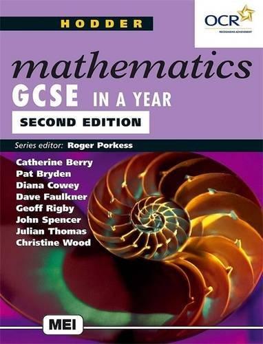 9780340846902: Hodder Math GCSE In A Year 2ED (Hodder GCSE Mathematics)