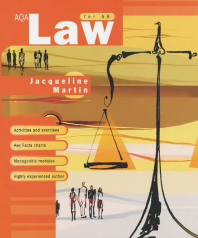 9780340847411: AQA Law for AS
