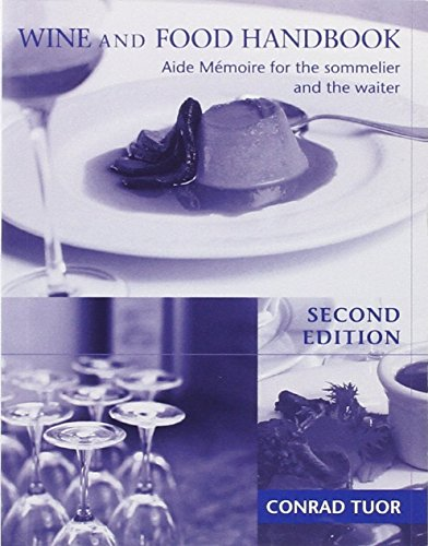 9780340848524: Wine & Food Handbook: Aide Memoire for the Sommelier & the Waiter