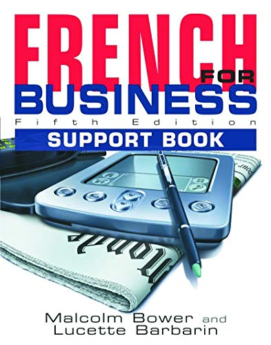 9780340849071: French for Business: Students Book, 5th Edition: Support Book