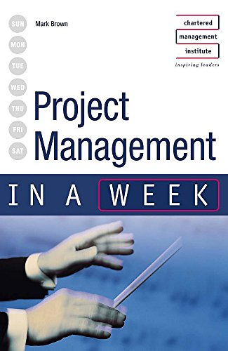 9780340849378: Project Management in a Week