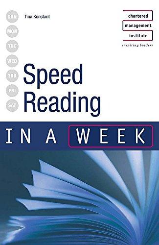 9780340849507: Speed Reading in a Week