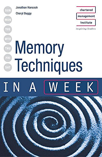 9780340849699: Memory Techniques in a Week