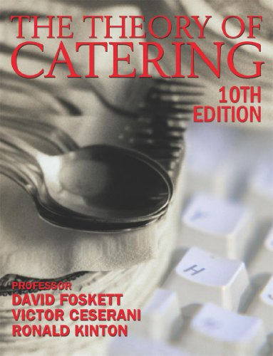 9780340850411: Theory of Catering