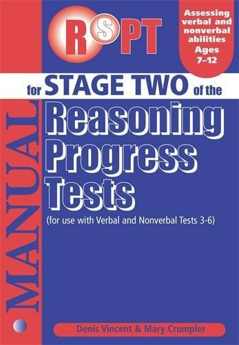Reasoning Progress Tests: Manual Stage 2 (0340858931) by Mary Crumpler; Denis Vincent