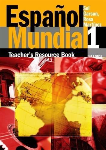 9780340859070: Espanol Mundial: Teacher's Resource Book v.1