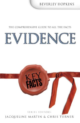 9780340859353: Evidence (Key Facts)