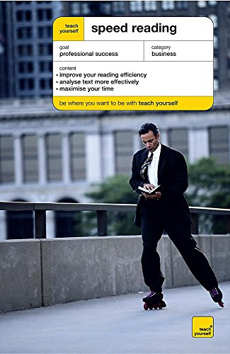 9780340859490: Teach Yourself Speed Reading (Teach Yourself Business & Professional)