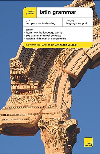 9780340859599: Teach Yourself Latin Grammar New Edition (TYCG)