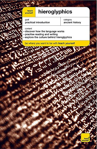 9780340859865: Hieroglyphics (Teach Yourself Educational)