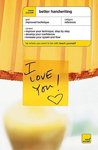 9780340859988: Teach Yourself Better Handwriting