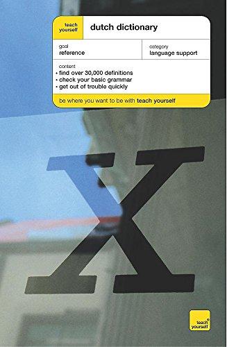 9780340860502: Dutch Dictionary: English-Dutch, Dutch-English (Teach Yourself)