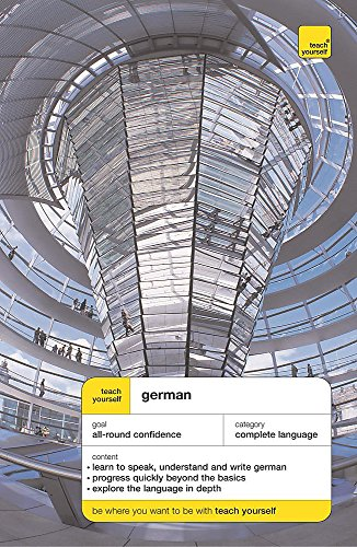 9780340866719: German (Teach Yourself Languages) Book and 2 cassettes