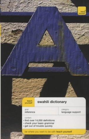 9780340867211: Teach Yourself Swahili Dictionary New Edition (TYD)