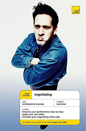 9780340867297: Negotiating (Teach Yourself Business & Professional)