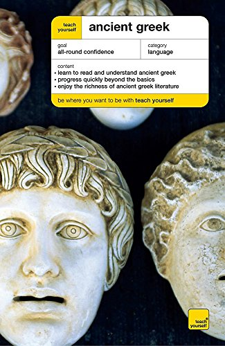 9780340867853: Teach Yourself Ancient Greek New Edition (Teach Yourself Complete Courses)