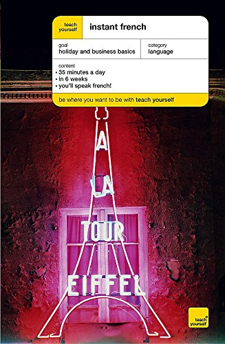 9780340868249: Teach Yourself Instant French (Teach Yourself Instant Courses)